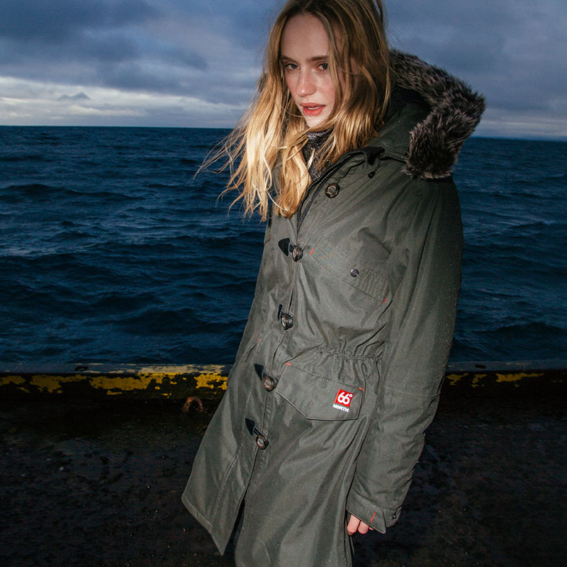 Snaefell Womens parka